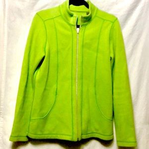 🌴Tommy Bahama Women's Lime Green Jacket